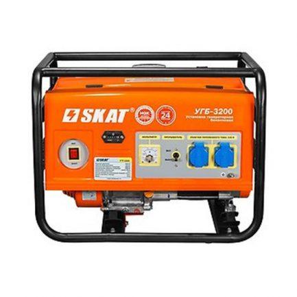 Бензиновый генератор SKAT УГБ-3200 3,5кВт