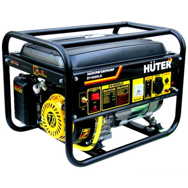 Газовый генератор Huter DY 4000 LG