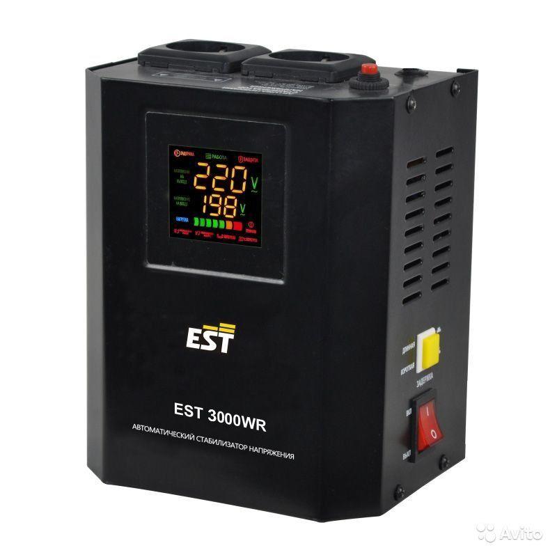 Стабилизатор напряжения EST 3000 WR