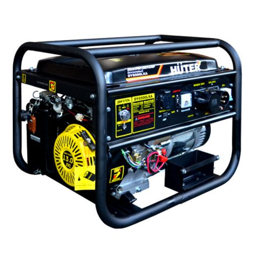 генератор Huter DY 6500 LXA