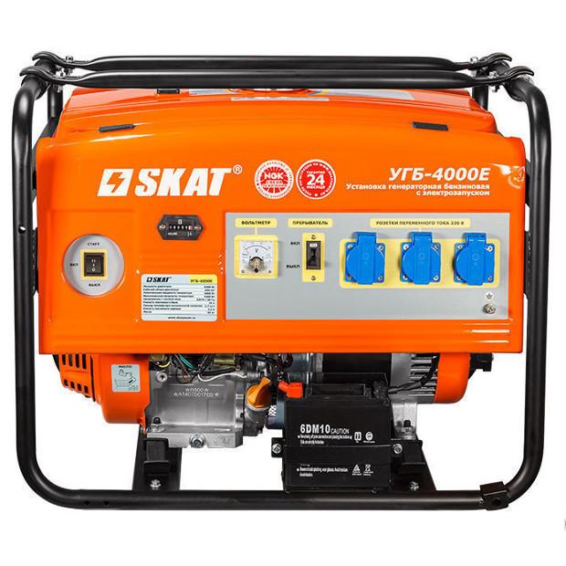 Бензиновый генератор SKAT УГБ-4000Е