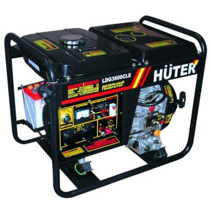 Дизельный генератор Huter LDG 3600 CLE