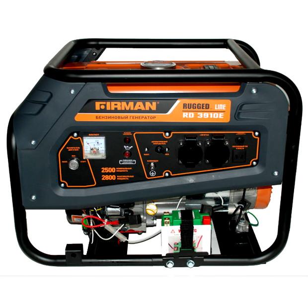 Бензиновый генератор Firman RD3910E