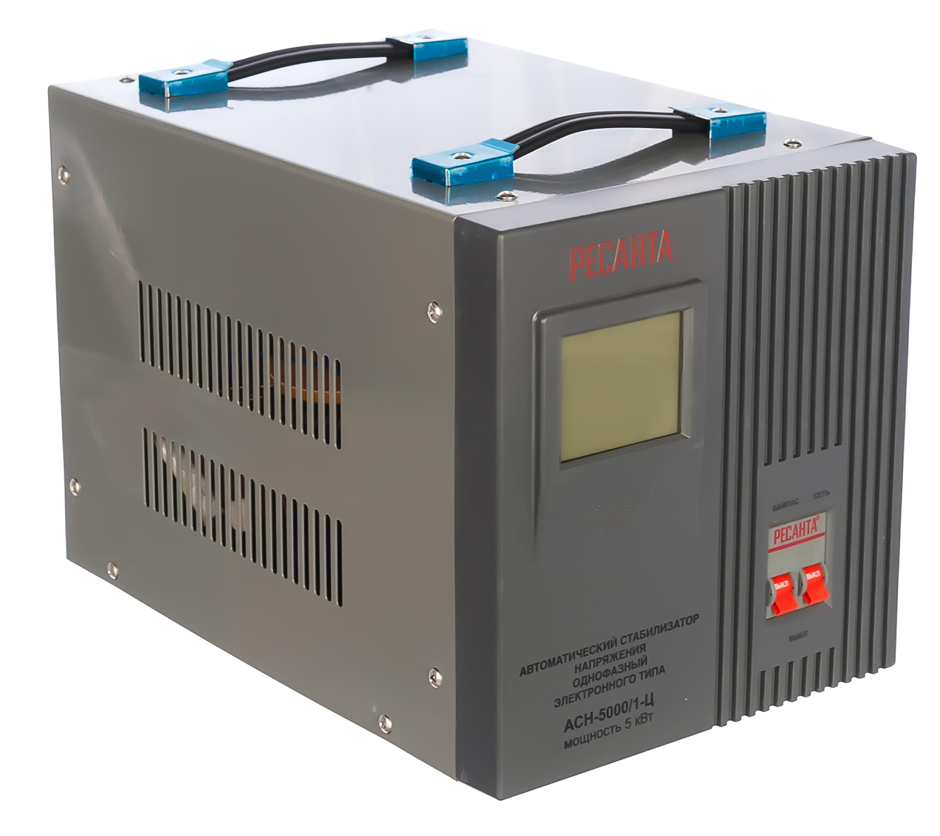 Стабилизатор напряжения Ресанта АСН-5000