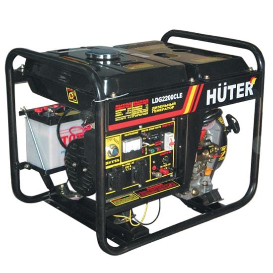 Дизельный генератор Huter LDG 2200 CLE