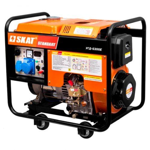 Дизельный генератор SKAT УГД-5300Е
