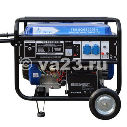 Бензиновый генератор TSS SGG 6000 EH