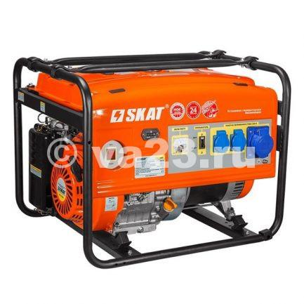 Бензиновые генераторы SKAT УГСБ-5000/230Е