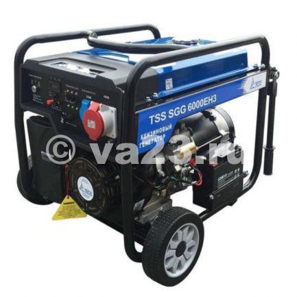 Бензиновый генератор TSS SGG 6000 EH3