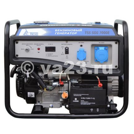 Бензиновый генератор TSS SGG 7000 E