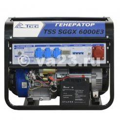 Бензиновый генератор TSS SGGX 6000 E3
