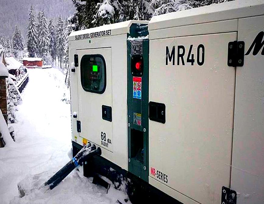 запуск дизельного генератора в зимнее время