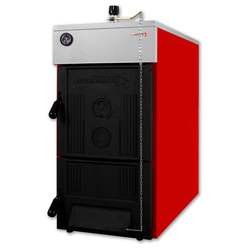 Напольный чугунный твердотопливный котел отопления Protherm «Бобер DLO